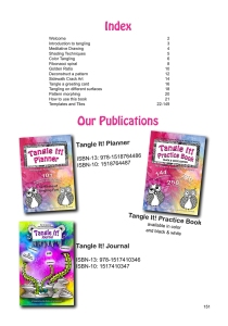 Tangle it Practice Book Index